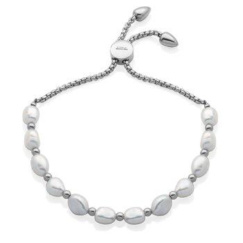 Pearl Bolo Bracelet
