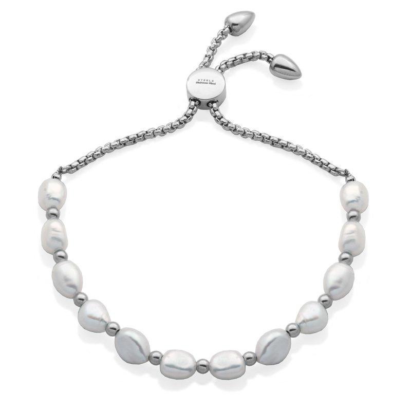 STEELX Pearl Bolo Bracelet
