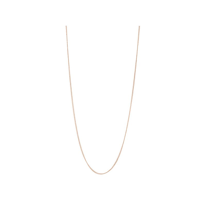 Fossil Flat Curb Necklace