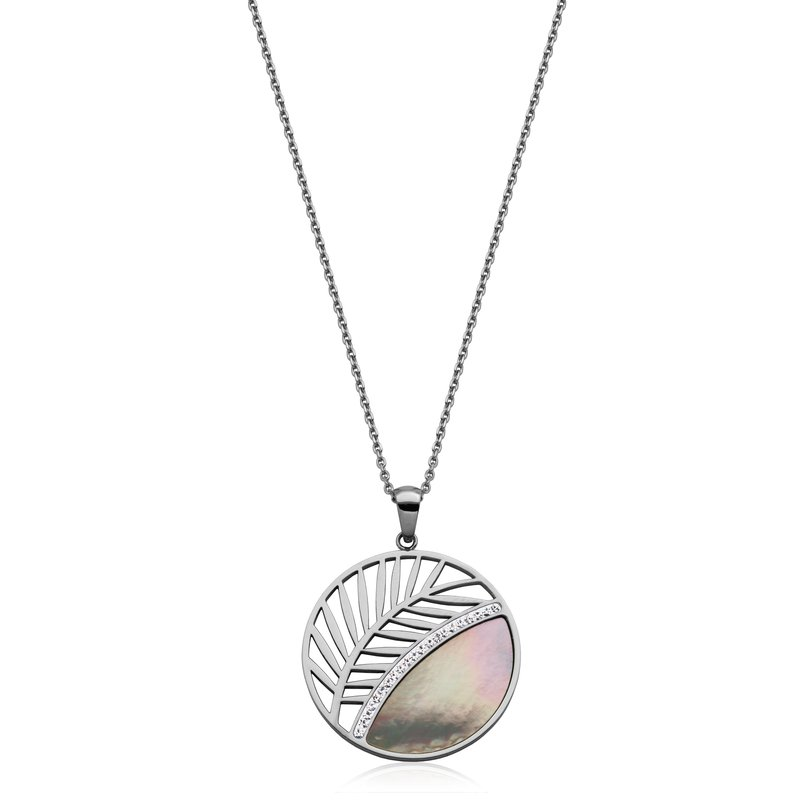STEELX Leaf Pendant