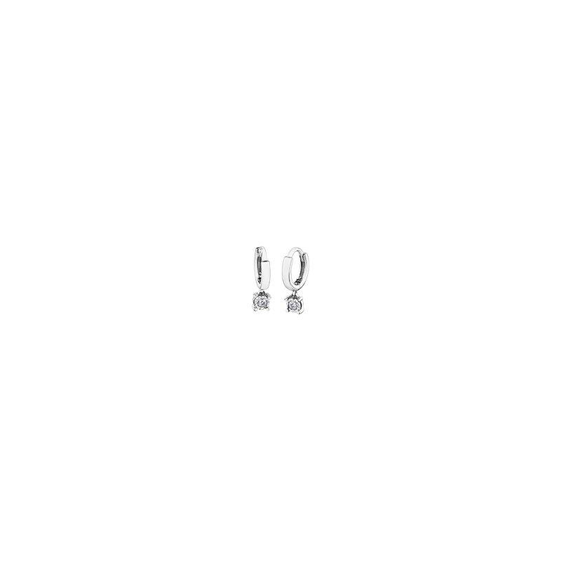 D of D Signature Diamond Dangle Earrings