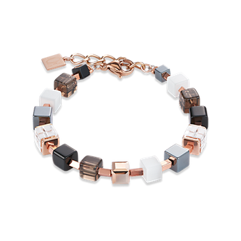 Bracelet Swarovski® Crystals & Stainless Steel Rose Gold