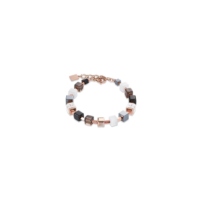Coeur De Lion Bracelet Swarovski® Crystals & Stainless Steel Rose Gold