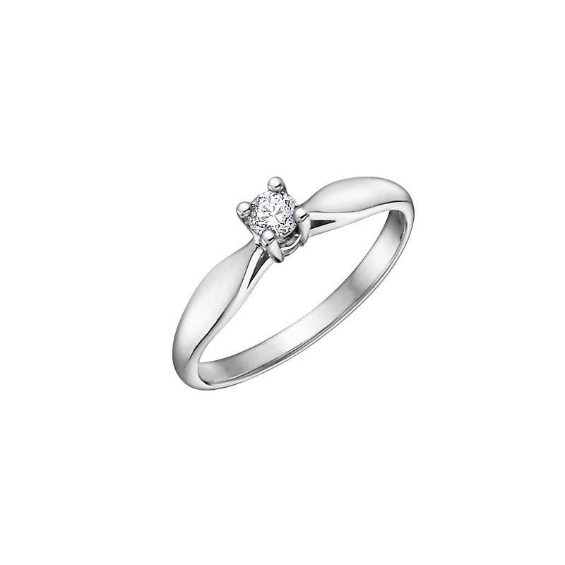 D of D Signature Round Brilliant Ring