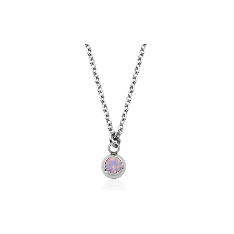 STEELX October Birthstone Necklace