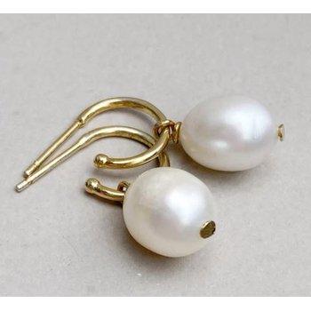 Clarity Pearl Drop Earrings