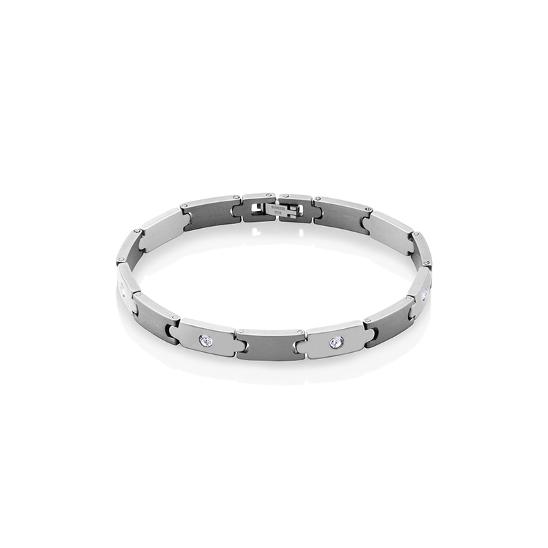 STEELX Crystal Link Bracelet