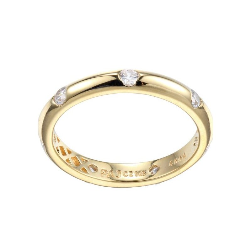 Reign GOLD TONE CZ RING