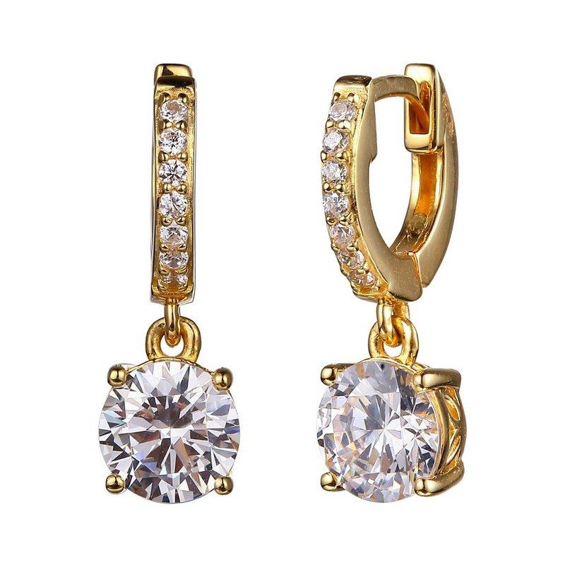 Reign CZ dangle earrings