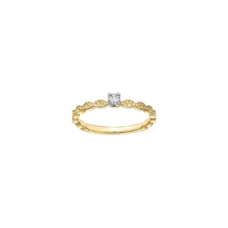 D of D Signature Diamond Solitare Ring
