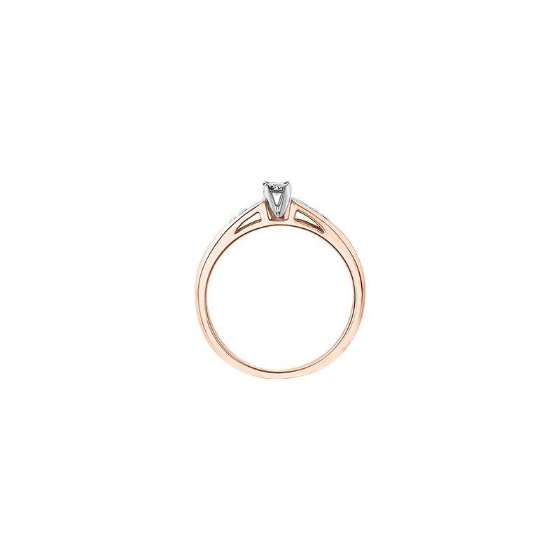 D of D Signature Round Brilliant bridal ring