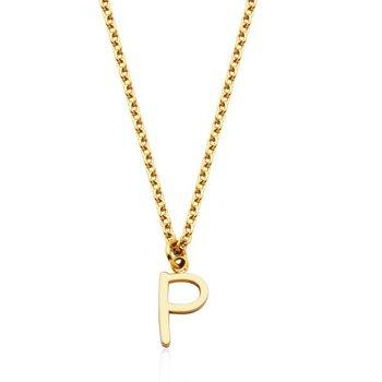 """""""P"""" Necklace"""