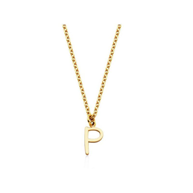 """STEELX """"P"""" Necklace"""