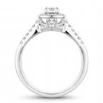 Noam Carver Round Brilliant Bridal Ring