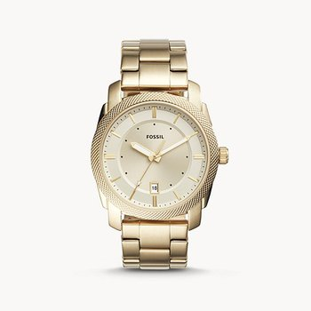 Three-Hand Date Gold-Tone Stainless Steel Watch