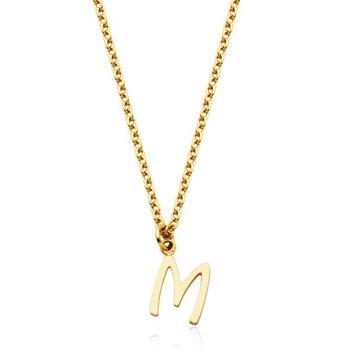 """""""M"""" Necklace"""