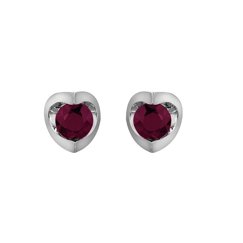 D of D Signature Ruby Stud Earrings