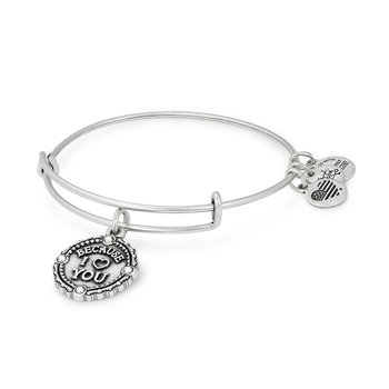 """Because I Love You"" Bangle"