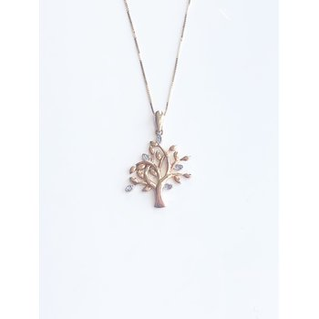 Diamond Tree of Life pendant