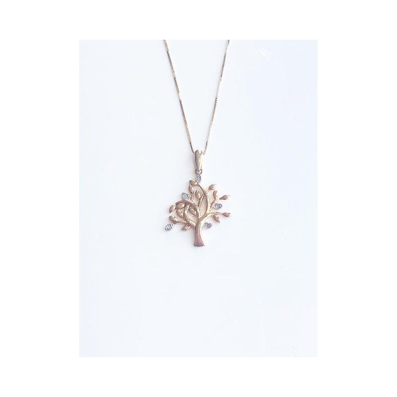 D of D Signature Diamond Tree of Life pendant