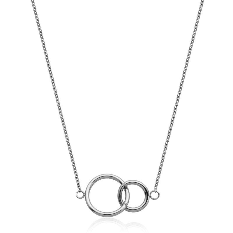 STEELX Double Circle Pendant
