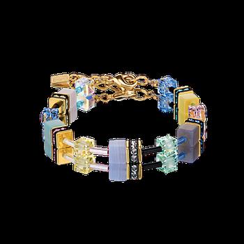 Bracelet GeoCUBE® Gemstones multicolour romance
