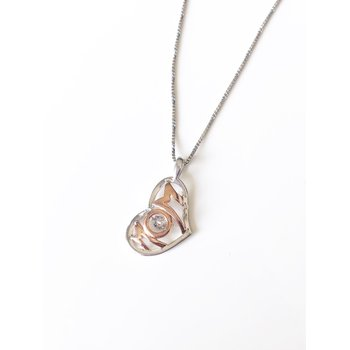 Moving Diamond Mom Pendant