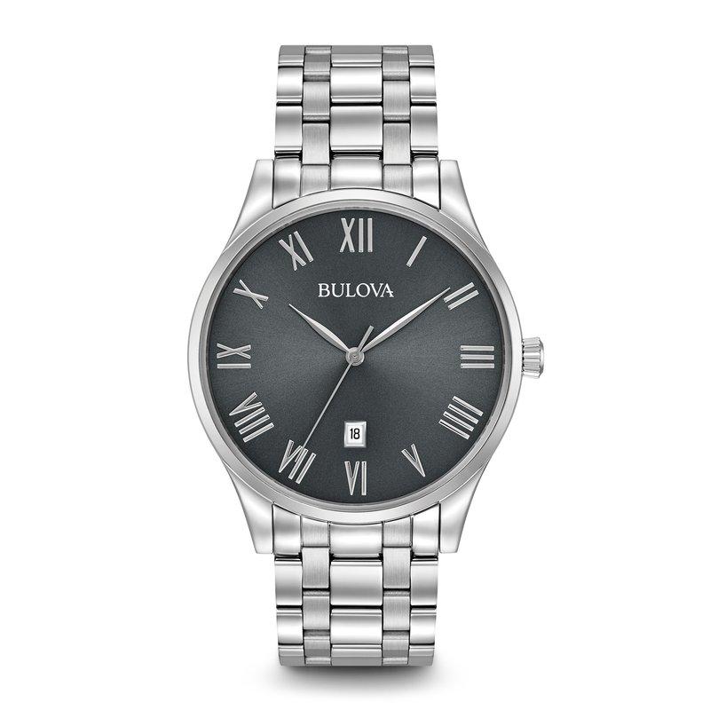 Bulova Men's Silver Watch