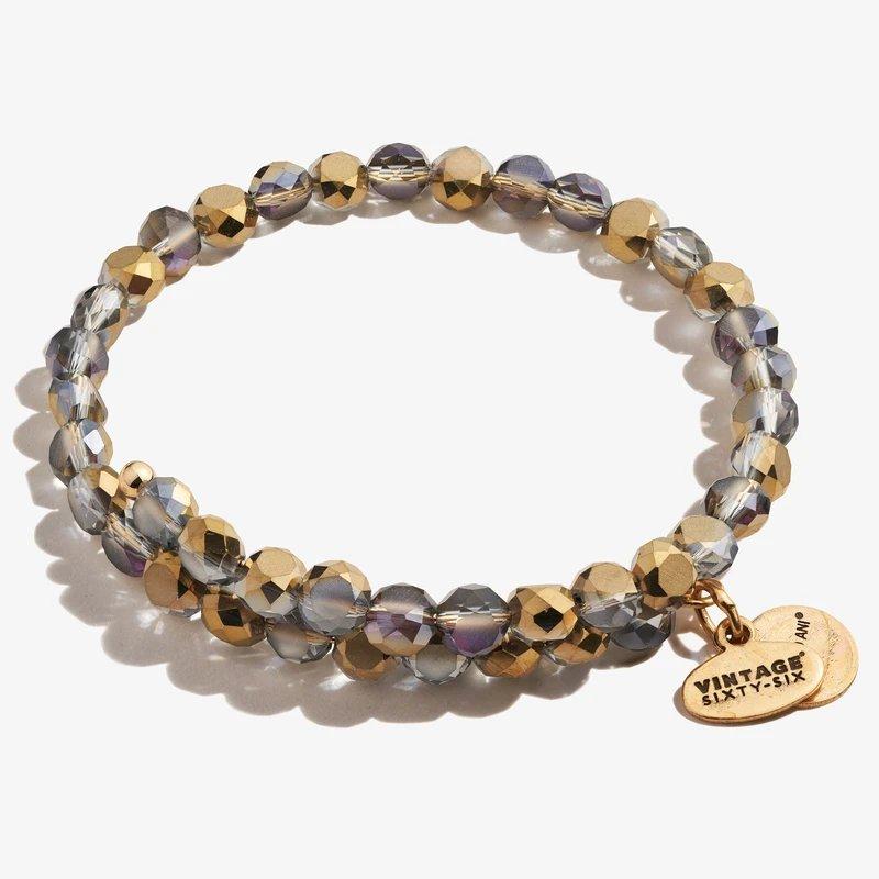 Alex and Ani Glam Wrap Bracelet, Bronze