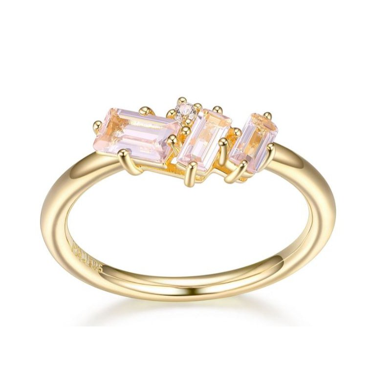 Reign Morganite Ring