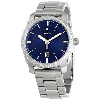Blue Dial Stainless Steel Men's Watch F