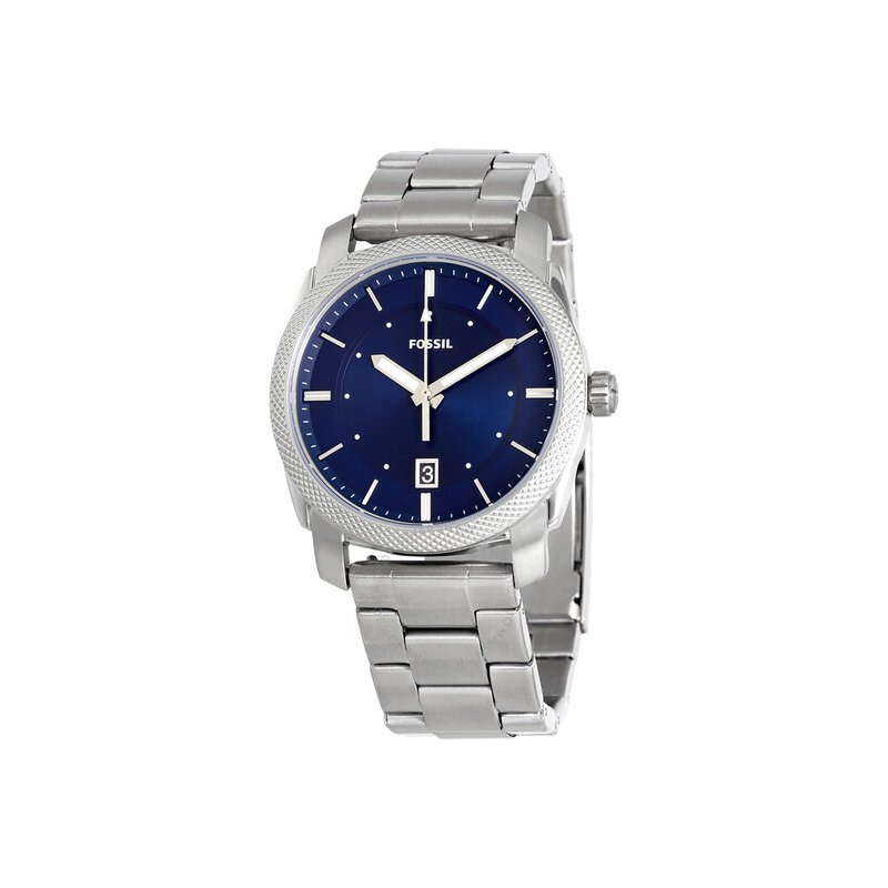 Fossil Blue Dial Stainless Steel Men's Watch F
