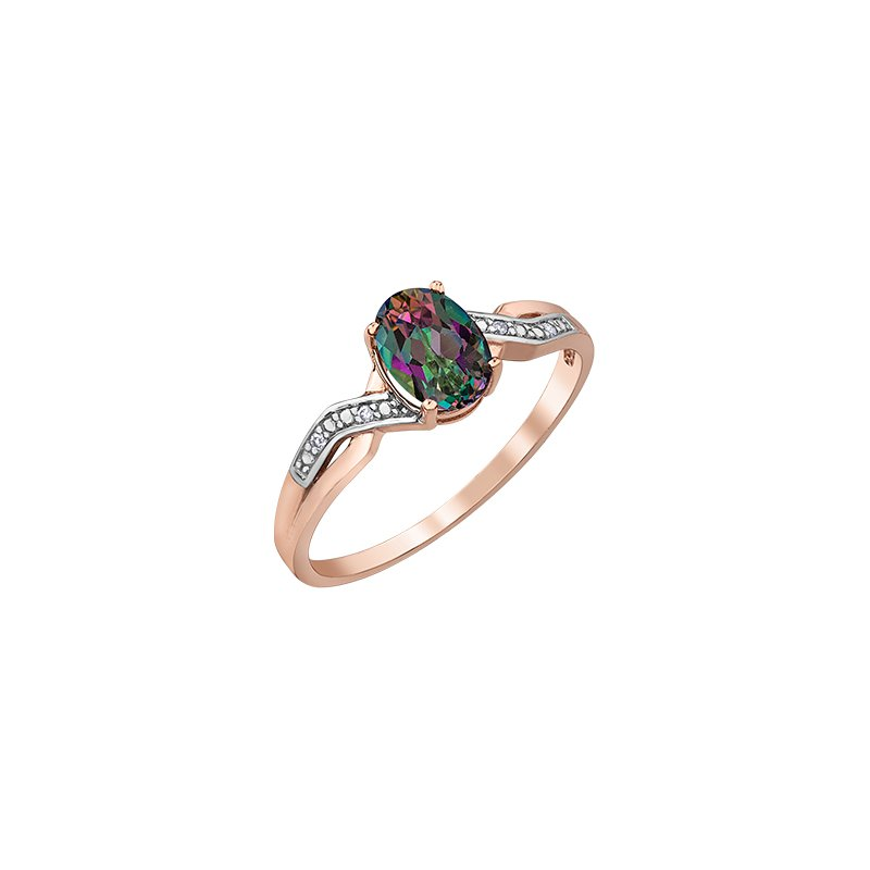 D of D Signature Mystic Topaz Ring