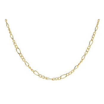 Figaro Mask Chain (Gold Tone)