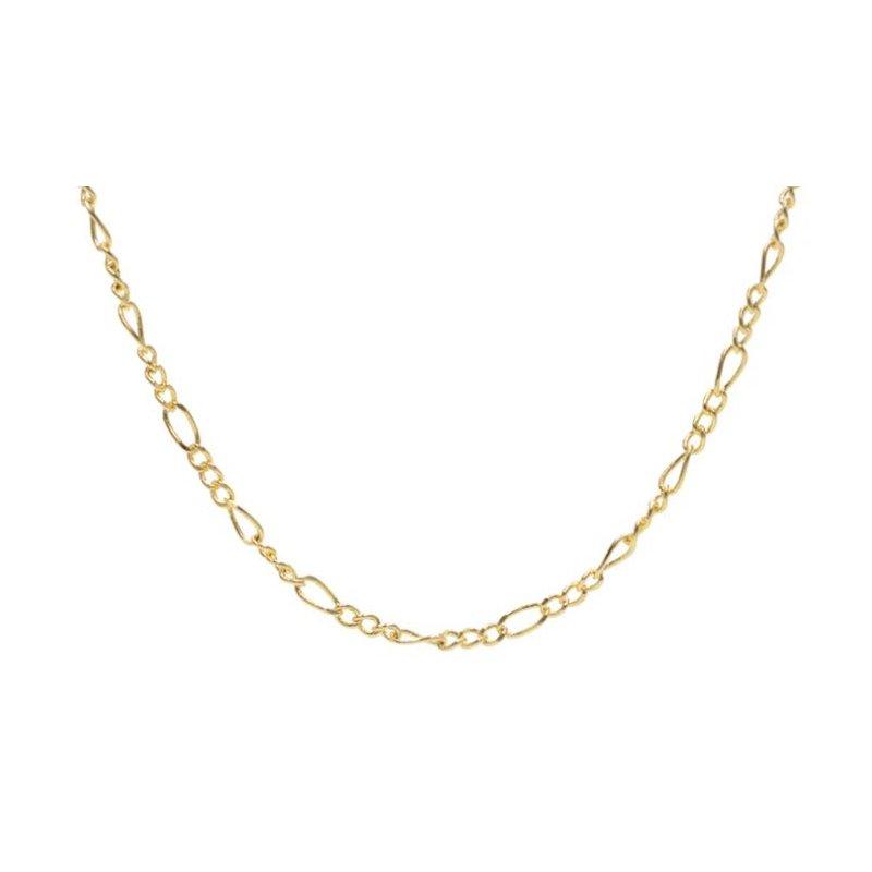 eLiasz and eLLa Figaro Mask Chain (Gold Tone)
