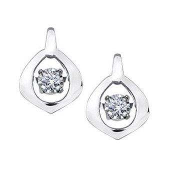 Pulse Diamond Earrings