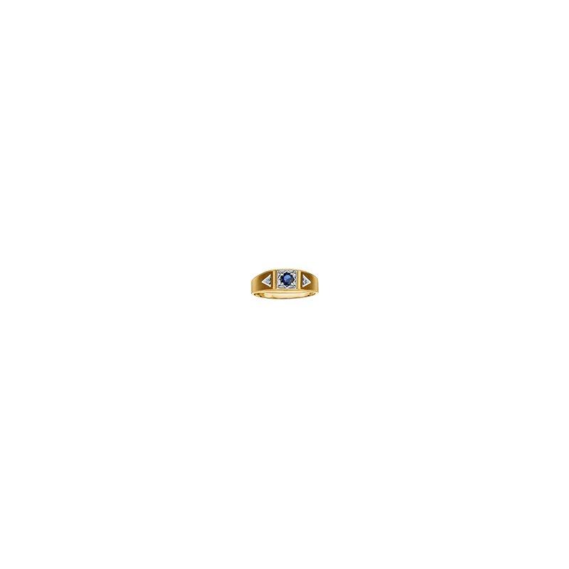 D of D Signature Men's Sapphire/Diamond Ring