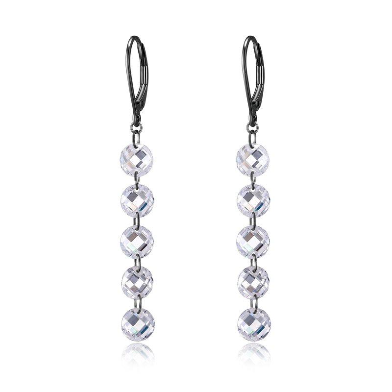 Reign Crystal Earrings