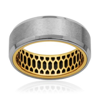 Matte Two Tone Ring