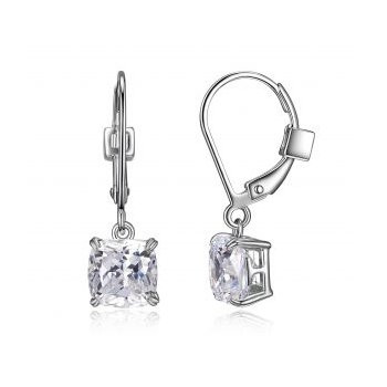 CZ Cushion Dangle