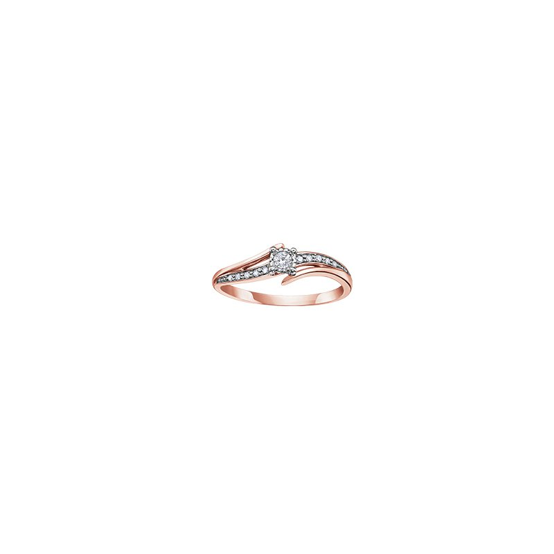 D of D Signature Diamond and gold ring