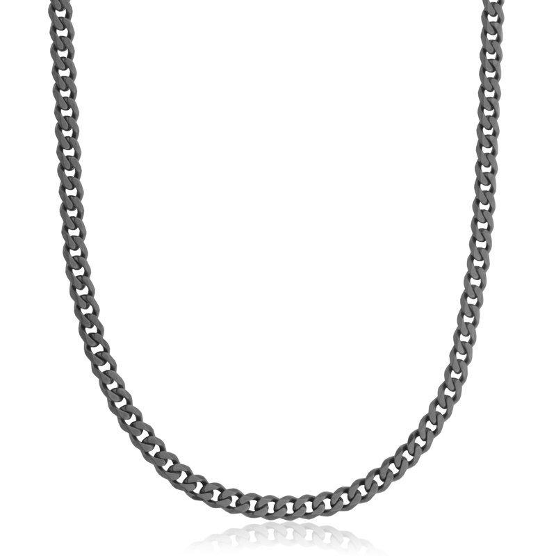 STEELX Black Curb Chain
