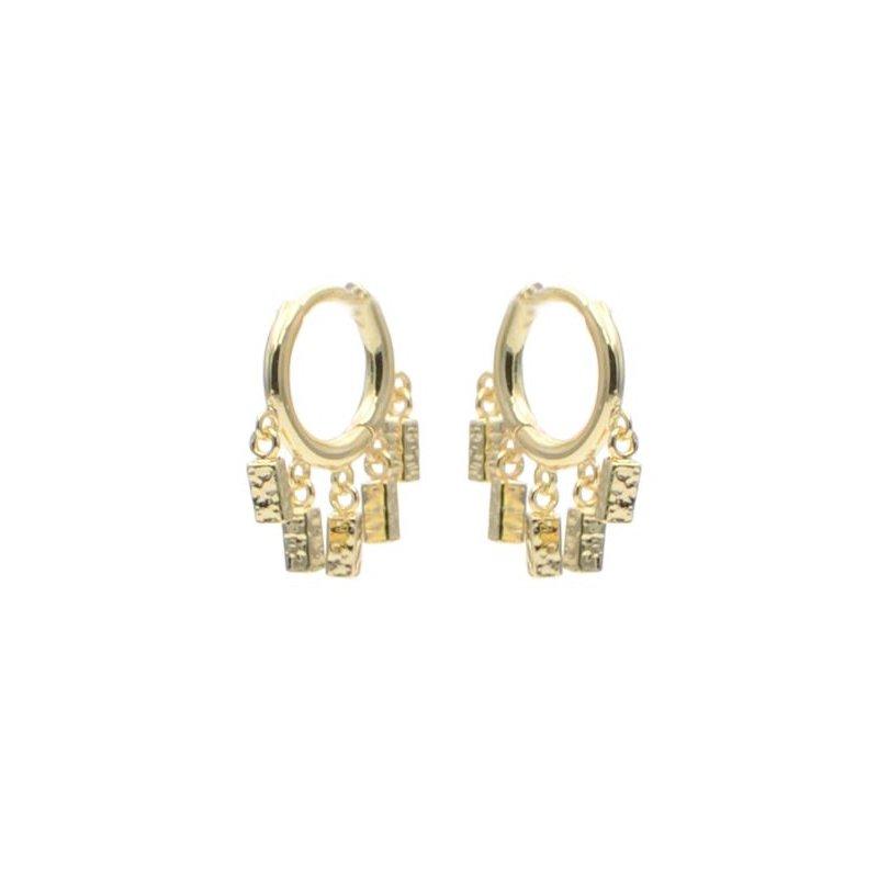 eLiasz and eLLa Fringe Hoop Earrings
