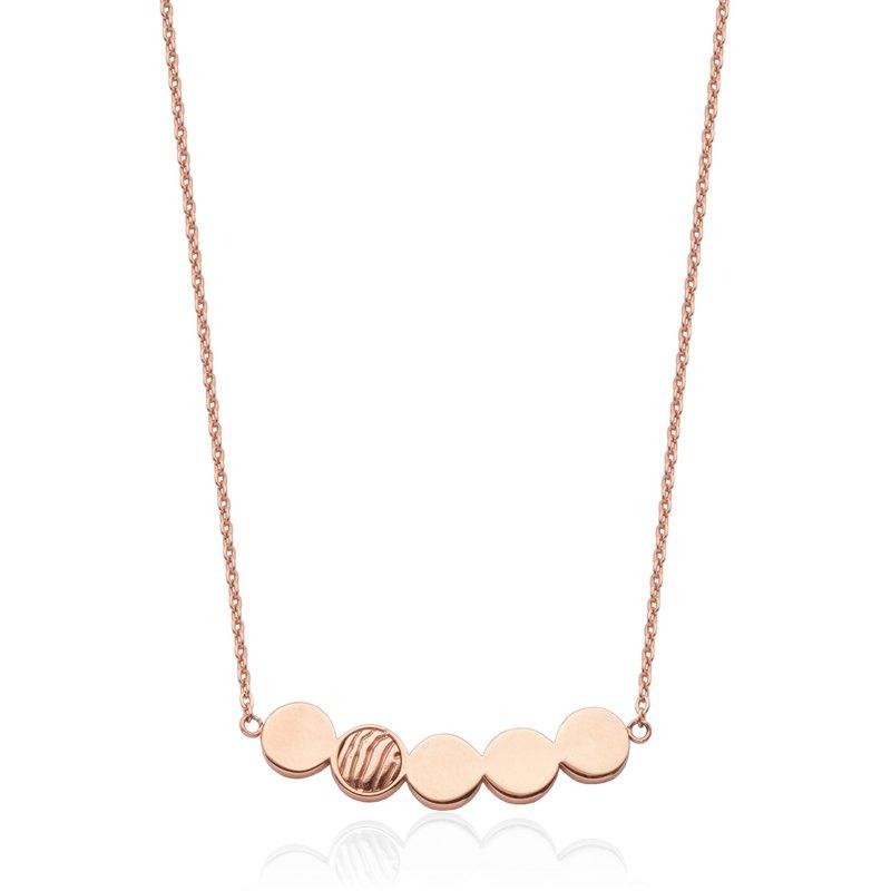 STEELX Dot Bar Necklace