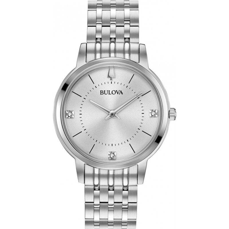 Bulova Ladies Silver Watch