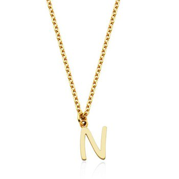 """""""N"""" Necklace"""