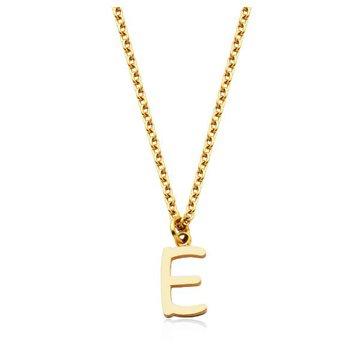 """E"" Necklace"