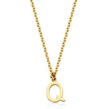 """'Q"""" Necklace"""