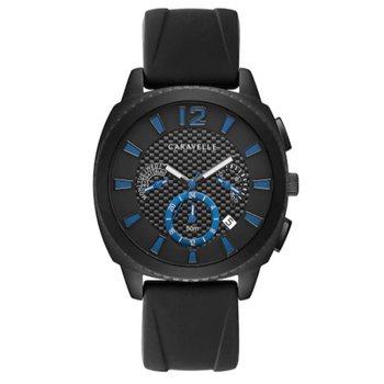 Men's Caravelle Silicone Watch