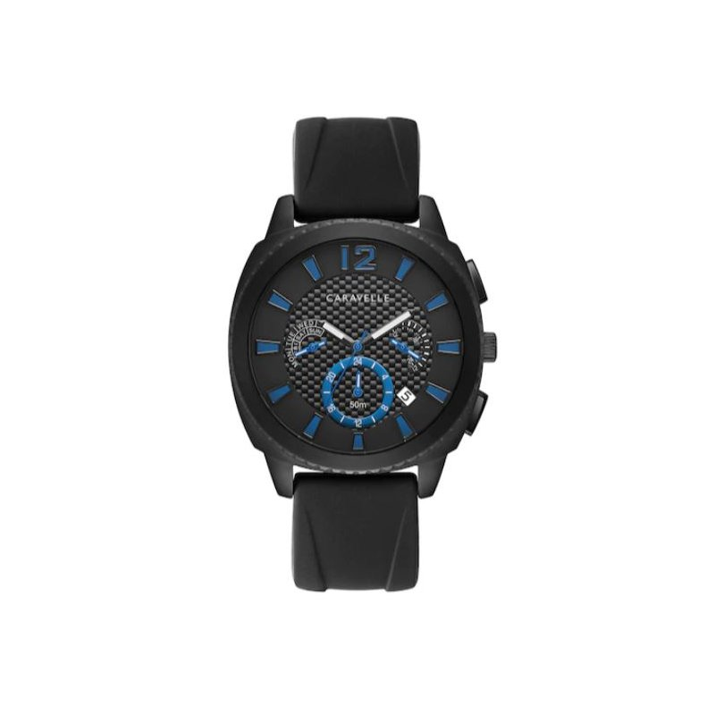 Caravelle Men's Caravelle Silicone Watch